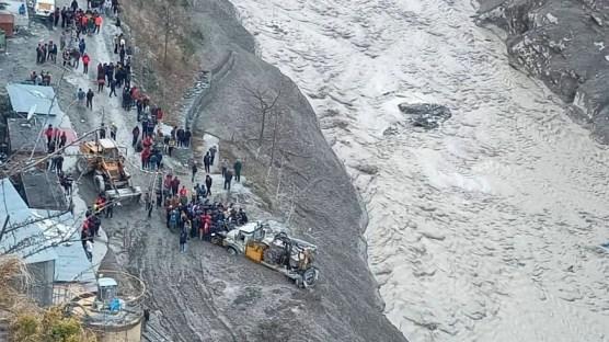 Joshimath glacier burst 1