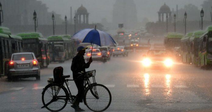 delhi rains website