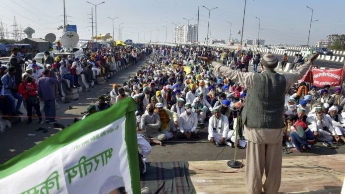 Farmers protest 16