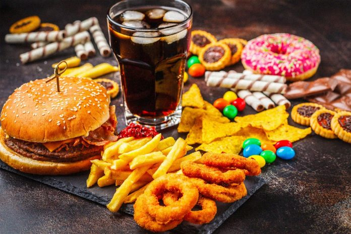 fast food american diet