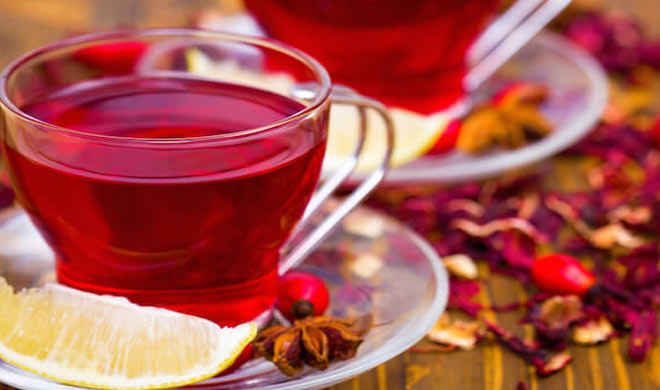 hibiscus tea with lemon 1461505702